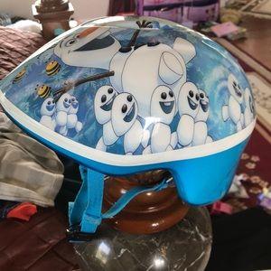 New Frozen toddler helmet